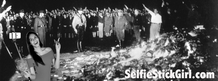 selfie-girl-book-burning_com